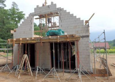 Budowa budynku nr 1